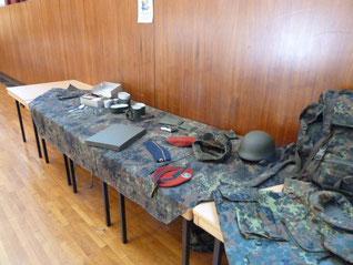 Anschauungsmaterial der Bundeswehr
