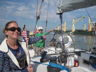 Kemah to Galveston First 4 Sail