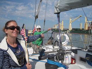 Kemah to Galveston First 4 Sail