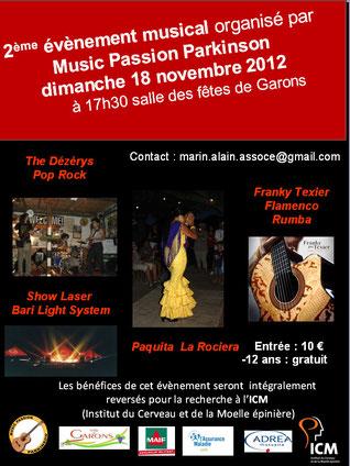 2e soirée évènement de l'association à Garons, ambiance et beau spectacle au rendez-vous !