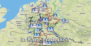 Die Grand Tour MYTHOS DEUTSCHLAND in Karte entdecken!