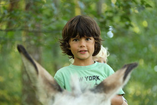 balade en famille avec un âne / M Turin©CRT Limousin