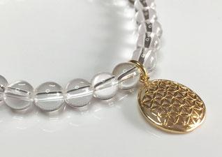 lebensblume-armband-bergkristall