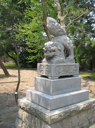 諏訪宮狛犬2