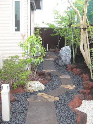 石畳・延段の施工例4