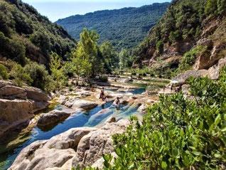 Les gorges du Verdouble à Duilhac-sous-Peyrepertuse
