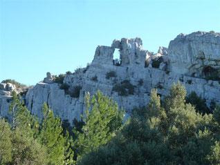 Le Mont Cruvelier, le Brigou (Ste Baume) : 17/01/2016