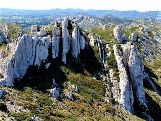 Les plissements rocheux du Destet