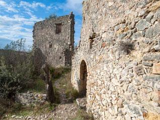 Vieux Mérindol, ruines du Château
