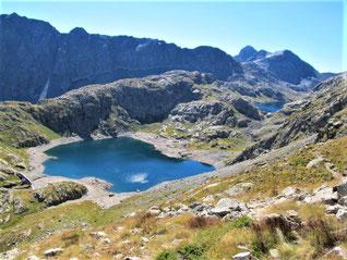 les lacs de la Vallée des Merveilles