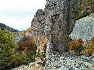 Rocher de l'Aiguille (Combe Fiole)