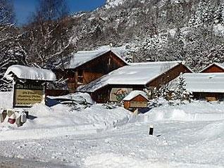 Le gîte de l'Ancolie sous la neige