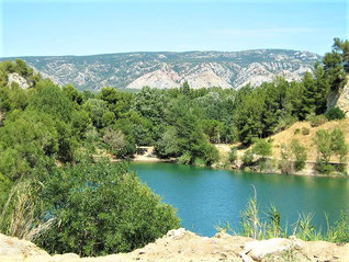 La Vallée Heureuse, le lac