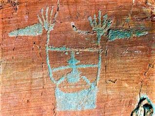 Gravure rupestres