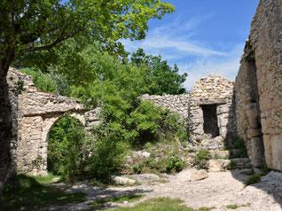 Ruines de la ferme de Lausemolan