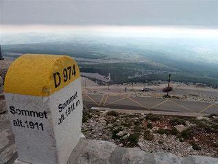 Le Mont Ventoux à partir de Bédoin : 3 mai 2015