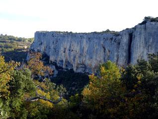 La Falaise de Lioux : 29 octobre 2017