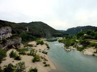 Collias, l'ermitage, entre Gardon et garrigues : 3 mai 2015