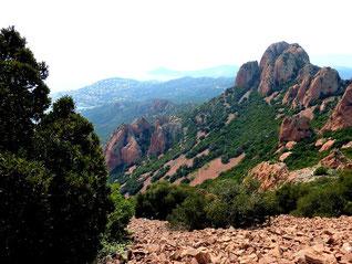 Séjour W. End dans le massif de l' Esterel : 17 au 19 avril 2015