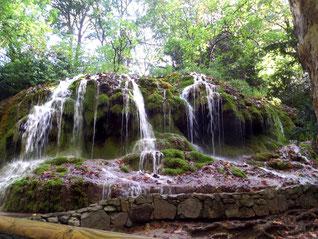 Les cascades du Moulin du Parc de St Pons