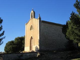 Le plateau de La Fare à partir de  la chapelle Sainte Rosalie : 12 janvier 2020