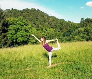 Yoga, Tänzer, Nadine Rumpler