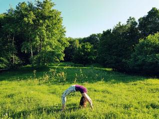 Yoga, Rad, Nadine Rumpler