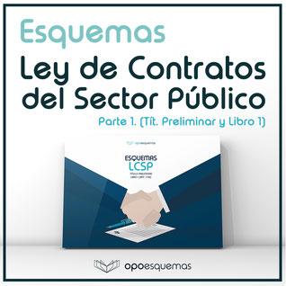 Esquemas Oposiciones Gratis Ley Contratos Sector Público Vídeo Explicativo Esquemas Oposiciones Academia Oposición Auxiliar Administrativo Del Estado