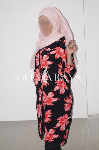 Long Tunik Flower