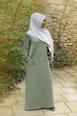 Simple Abaya Pearl