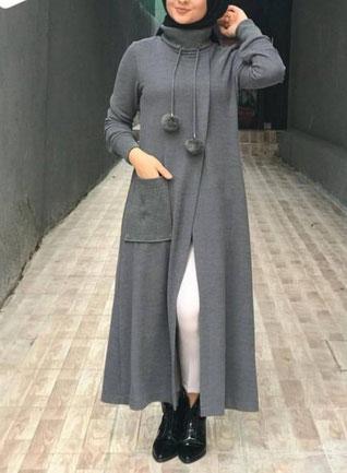 Short Open Abaya