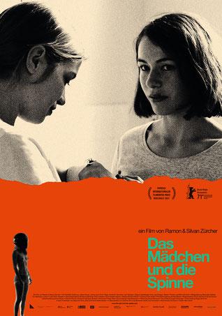 Das Mädchen und die Spinne Poster