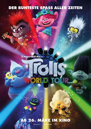 Trolls World Tour Plakat
