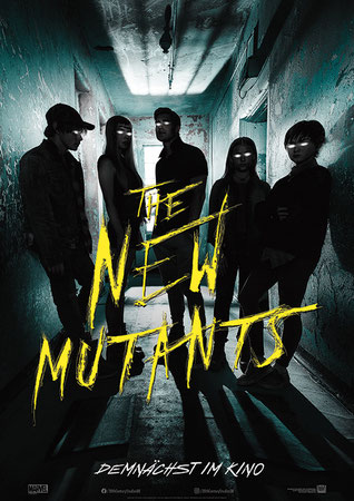 The New Mutants Plakat