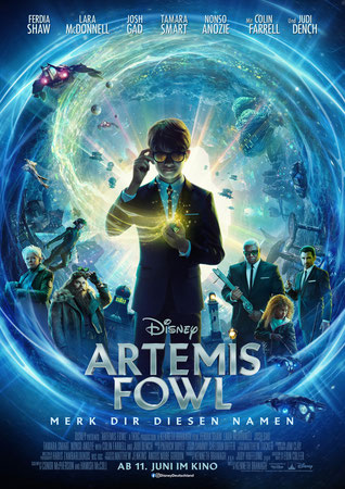 Artemis Fowl Plakat