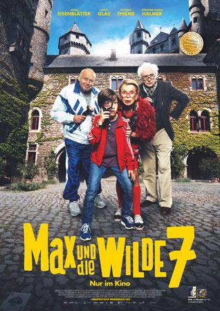 Max und die wilde 7 Plakat