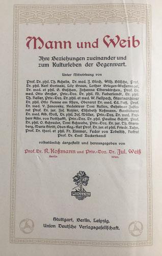 """Quelle """"Mann und Weib"""""""