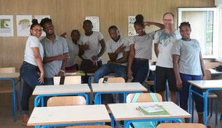 Rencontre avec les élèves de la seconde Pro Vente du Lycée Cécile Cheviet à Saint-Laurent - invitation du professeur Alexandre Lallemand