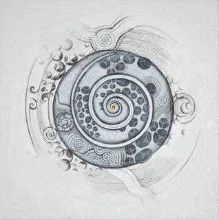 Ying yang original art painting