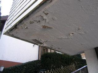 Frostschaden Balkon