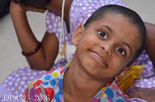 Notre plus jeune pensionnaire, Gayithree - 2016