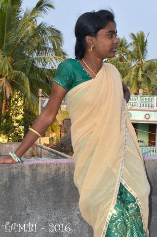 Sivagami, une de nos plus anciennes suivie par TAMBI depuis 2008 - photo 2016