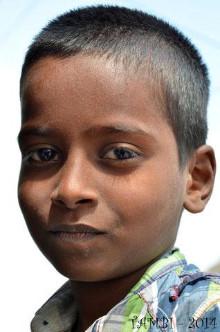 Le jeune Vishva, arrivé en juin 2014