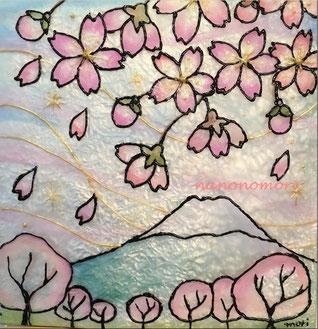 富士山と桜 (講座 初心者もOK)