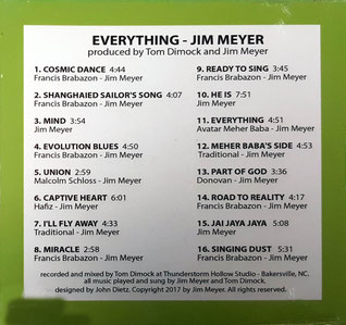 """Everything"" - back cover"