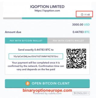 deposito bitcoin di lqdfx