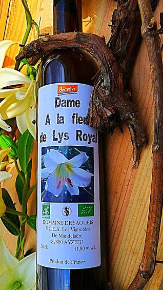 Bio Blanche Armagnac AOC, Fleur de Lys Royal