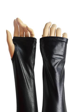 Wetlook Handschuhe fingerlos mit Daumenloch schwarz