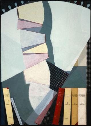 francois beaudry tempera peinture tableau série chercheur de trésors 7