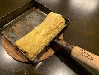 銅の卵焼き器